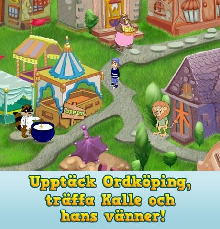 Upptäck Ordköping, träffa Kalle och hans vänner!
