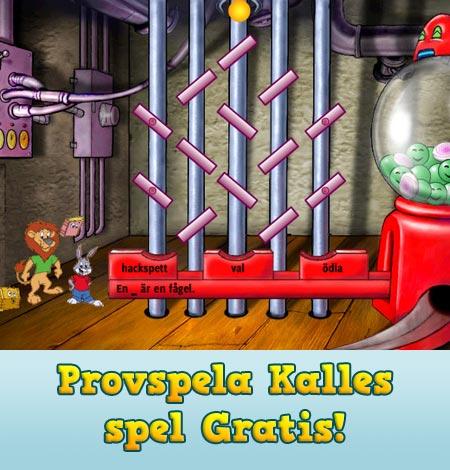 Provspela Kalles spel gratis!